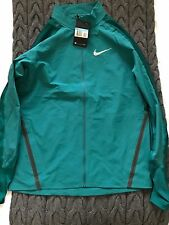 Nike Twill Running Jacket Green Men's Size Medium New With Tags