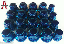 20PCS BLUE HEMI SRT8 LUG NUTS 14x1.5 C'DAK ACORN LUGS & LOCK COMBO ANTHONY KALI