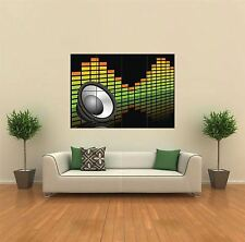 Altoparlante & Equalizer offre DJ NUOVO GIGANTE POSTER WALL ART PRINT PICTURE G394