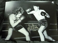 John H Stracey Signed 12x16 Boxing Photograph : D