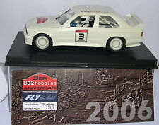 FLY SLOT CAR BMW M3 E30  III ANIVERSARIO U32  2006  LTED.ED. 200UNITS  MB