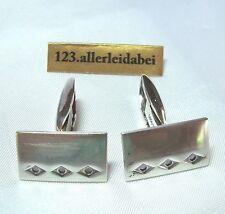 Finnland Manschettenknöpfe 830 Silber Export Schweden silver Cufflinks / AL 189