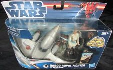 STAR WARS NABOO ROYAL FIGHTER with OBI WAN KENOBI Includes Galactic Battle