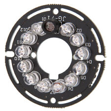 12-LED for CCTV Security Camera IR Infrared Illuminator Board with Cuttable Edge