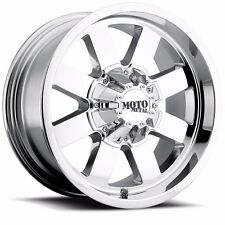 20x9 CHROME wheels MOTO METAL 962 1990-2017 CHEVY GMC 1500 Trucks 6x5.5 +0mm