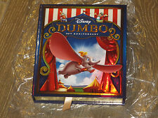 NEW Dumbo 70th Anniversary (2-Disc Set, Blu-Ray/DVD) w/ Limited Edition Case