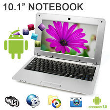 """New 10"""" 1.5Ghz WIFI Android 5.0 Silver Mini PC Notebook Laptop Computer Netbook"""
