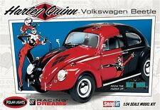 Polar Lights Harley Quinn VW Beetle snap 1/25 model car kit new 944
