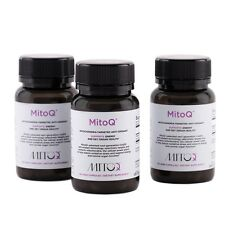 MitoQ® 5mg  Vegicap  60 Triple Pack  Save money with the Triple  Ships from NY