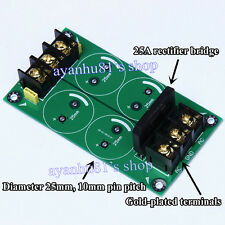 High-power Single Bridge 25A Rectifier Filter Power Supply Board For Amplifier