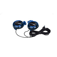 Blue Stereo Headphones Ear-buds for Nintendo DS Lite DSi 3DS New