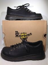 Dr. Martens Men's Size 10 Healy Black Leather Casual Lace Up Shoes ZD-1015