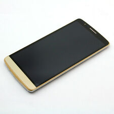 Gold LCD Display Touch Screen Digitizer + Frame Bezel For LG G3 D850 D851 D855