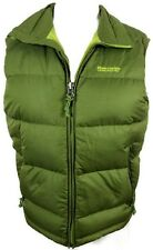 ABERCROMBIE & FITCH Down Insulated Green Puffer Vest Size Small Coat Jacket