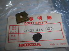 NOS Honda OEM Ground Plate CB400 CX500 CM200 CM400 CM450 33403-413-003