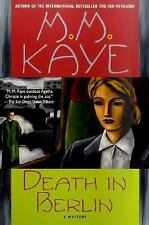 Death in Berlin by M. M. Kaye (2000, Paperback, Revised)