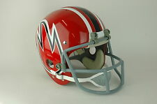 1974 WFL Chicago Fire Suspension Football Helmet