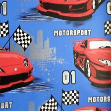 Debona Motorsport Blue-Red Racing Cars Kids Childrens Wallpaper 6332