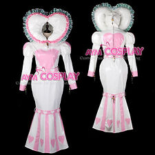 adult baby sissy Maid PVC Dress lockable CD/TV Unisex Tailor-made[G2397]