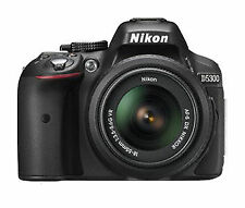 Nikon D d5300 24.2 MP SLR-Fotocamera digitale-nero (KIT M/AF-S DX 18-55mm...