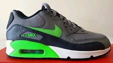 NIKE AIR MAX 90 GRIGIA BLU SCURO VERDE FLUO N.38,5 LIMITED EDITION NEW OKKSPORT