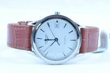 LONGINES FLAGSHIP MEN'S WATCH AUTOMATIC STEEL/STEEL 37MM TOP CONDITION