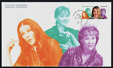 Canada 2775 on FDC - Catherine O'Hara, Comedian