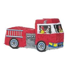 Fire Engine Shaped Party Piñata Game/Decoration