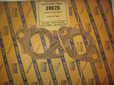 1932 FORD MODEL B V8 ENGINE WATER INLET GASKETS McCORD 30028 NORS PAIR