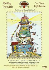 BOTHY THREADS CUT THRU LIGHTHOUSE 26x35cm COUNTED CROSS STITCH KIT - NEW