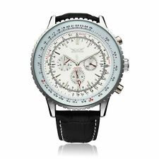 JARAGAR Automatic Mechanical Big Dial Multi Number Precise Watch
