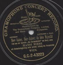 Hansi Niese Wien 1907 : Operette Die Försterchristel - Georg Jarno  Uraufführung