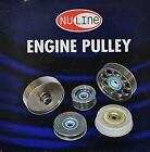 NULINE HOLDEN COMMODORE VT VX VY V6 SUPERCHARGED 3.8L 96-00 6PCS PULLEY KIT