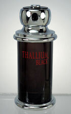 THALLIUM BLACK FOR MEN EAU DE TOILETTE SPRAY YVES DE SISTELLE 3.3 0Z. FULL.