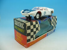 C77 scalextric ford gt blanc made in hong kong boxed