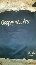 Goodfellas Stussy/ Huf Black and Gold M XL