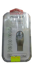 PhotoFast 4K iReader - Lightning to MicroSD Card reader (Gold) for iPhones/iPads