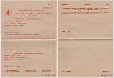 # SVIZZERA: COMITE' INTERNATIONAL DE LA CROIX-ROUGE- PER TESTO DI MESSAGGIO ..