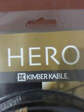 Kimber Kable Hero 1m 3' RCA  WBT 0144 Interconnects