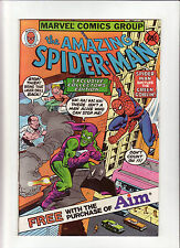 Amazing Spider-Man NN 1980 Marvel Comic Aim Giveaway Exclu.Coll.Ed. Goblin VF