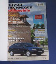 Revue technique  RTA 609 Citroen xsara essence 1.4 - 1.8