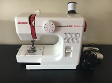 Janome Mini sewing machine good condition with box