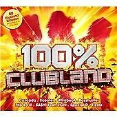 100% Clubland (2016) New Release (4 CD Box Set) Club Land Dance Music