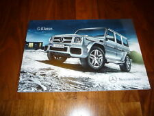 Mercedes benz clase G folleto 04/2012