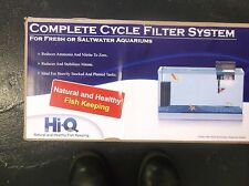 """HI-Q COMPLETE CYCLE FILTER SYSTEM NEW 30 gallon all water types 15.5"""""""
