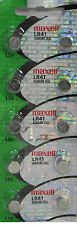 MAXELL LR41 AG3 192 Button Cell Batteries X 10