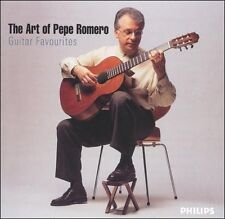 The Art of Pepe Romero: Guitar Favorites (2 CD, Feb-2005, Philips)
