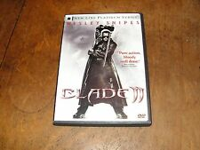 Blade II (DVD, 2002, 2-Disc Set, Two Disc Set) starring Wesley Snipes