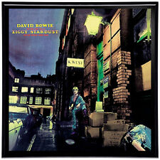 David Bowie Ziggy Stardust Framed 12' LP Artwork inc. Vinyl Record