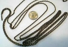 12 ft 3x2mm Antique bronze plated cable link jewelry making beading chain PCH033